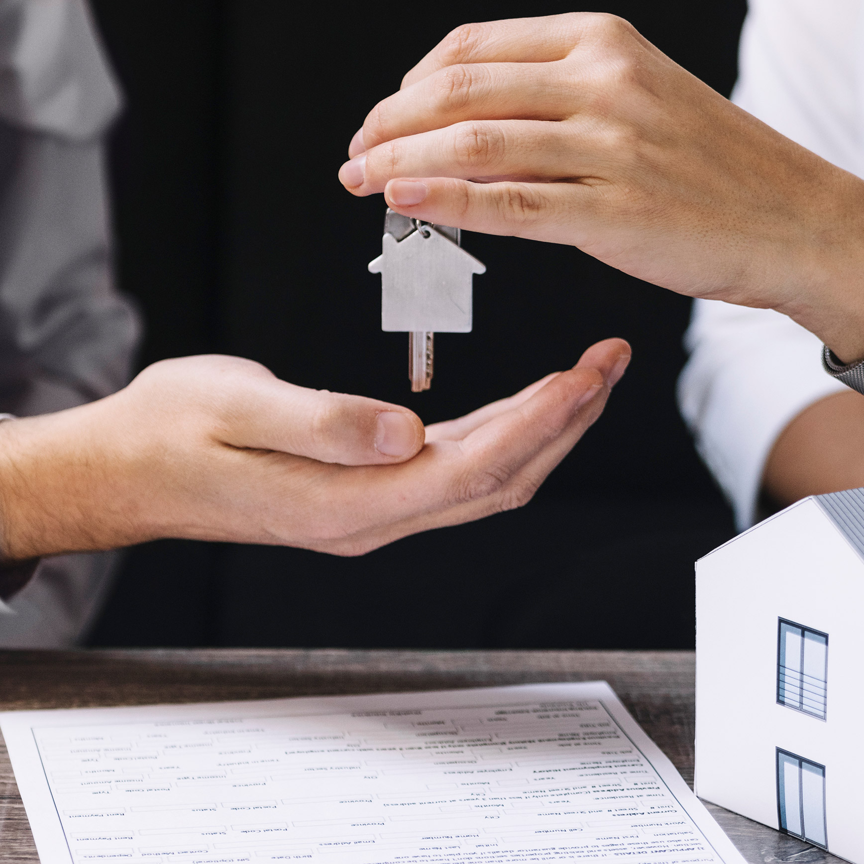 Agence immobilière impression