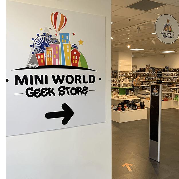 Mini World - signalétique lagence-riccobono
